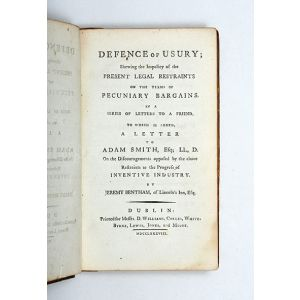 Defence of Usury.