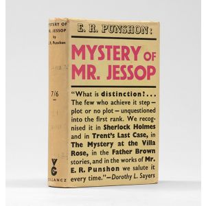 Mystery of Mr. Jessop.