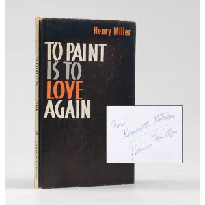 To Paint Is To Love Again.