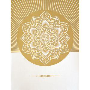 Obey Lotus Diamond (White & Gold).