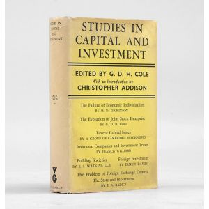 Studies in Capital & Investment.