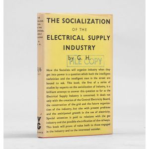 The Socialization of the Electrical Supply Industry.