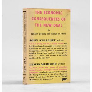 The Economic Consequences of the New Deal.