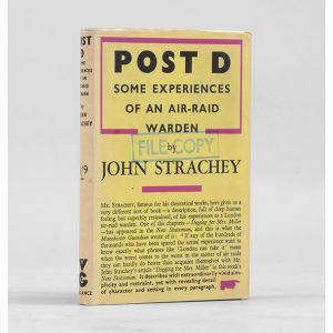 Post D. Some Experiences of an Air Raid Warden.