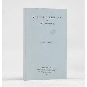 Marshall Library of Economics. Catalogue.