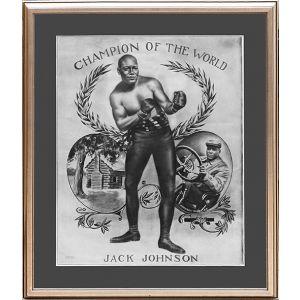 Champion of the World Jack Johnson.