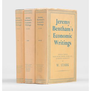 Jeremy Bentham's Economic Writings. Critical edition, based on his printed works and unprinted manuscripts.