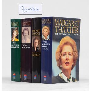 The Downing Street Years; The Path to Power; Statecraft. Strategies for a Changing World; The Collected Speeches.