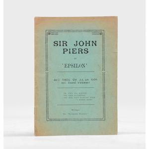 Sir John Piers.