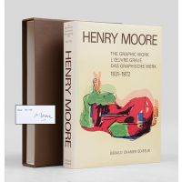 Henry Moore. Catalogue of Graphic Work. [Together with signed lithograph].