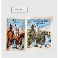 The Castle and the Cave. [With the original artwork for the dust jacket by John S. Goodhall].