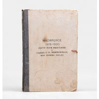 Wazirforce 1919-1920. Fifty Five Sketches.