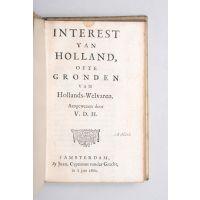 Interest van Holland, ofte gronden van Hollands-welvaren. Aangewezen door V.D.H.