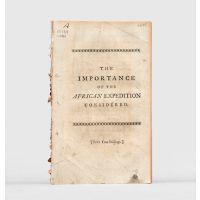 In Honour to the Administration. The Importance of the African Expedition considered: with Copies of the Memorials,