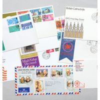 Collection of first day covers.