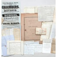 Family archive illustrating the consequences of bankruptcy.