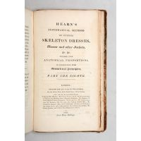 Hearn's Rudiments - a pair of contemporary Sammelbands, containing 12 rare Regency pattern-cutting manuals, including Hearn's system complete with variants.