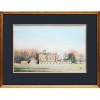 Painting of Chequers.