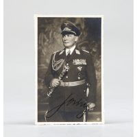 Signed photographic postcard by Röhr of Magdeburg.