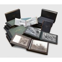 Collection of 16 photographic albums; [together with:] typescript diary.