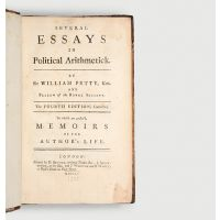 Several Essays in Political Arithmetick. The Fourth Edition, Corrected. To which are prefix'd, Memoirs of the Author's Life.