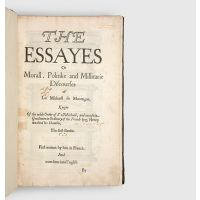 The Essayes Or Morall, Politike and Millitarie Discourses