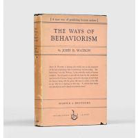 The Ways of Behaviorism.