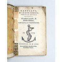 [Carmina.] Catullus, et in eum commentarius M. Antonii Mureti.