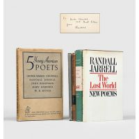 5 Young American Poets, and four other first editions, inscribed.