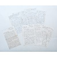 London, 11th November 1918, three autograph letters containing eyewitness accounts.
