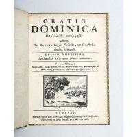 Oratio Dominica.