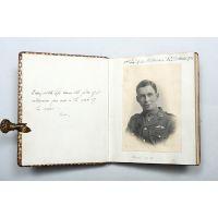 Manuscript memorial volume of a pilot officer of 56 Squadron R. F. C.