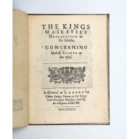 The Kings Maiesties declaration to his subiects, concerning lawfull sports to bee vsed.
