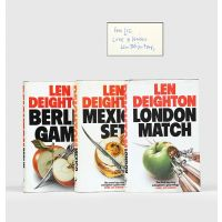 [Trilogy:] Berlin Game; Mexico Set; London Match.
