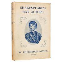 Shakespeare's Boy Actors.