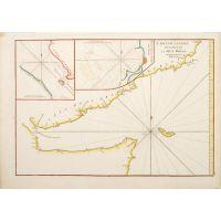 Carte de l'Entree du Golfe de la Mer Rouge
