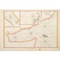 Carte de l'Entree du Golfe de la Mer Rouge.