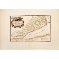 Tabula Itineraria a Sues usque ad Dsjabbel el Mokatteb et Montem Sinai.