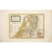 A New Map of the UNITED PROVINCES or NETHERLANDS &c
