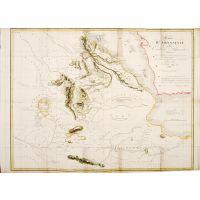 Carte D'ABYSSINIE endes Contrées Adjacentes Dressée Partie d'áprès des Observations faites sur les Lieux.  Par L'Auteur Partie d'áprès des informations prises dans le Pays en 1809 et 1810.