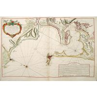 Carte hydrographique de la Baye de Cadix.