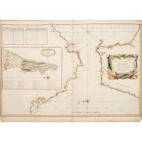 Carte du détroit de Gibraltar