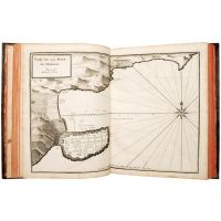 Recueil de plusieurs Plans des Ports et Rades et de quelques Cartes particulières de la Mer Méditerranée,