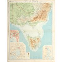 Victoria and Tasmania.