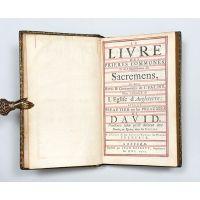 Le Livre des Prieres Communes, Et de l'Administration des Sacremens,