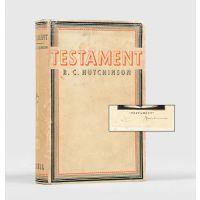 Testament. A Novel.