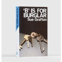'B' is for Burglar.